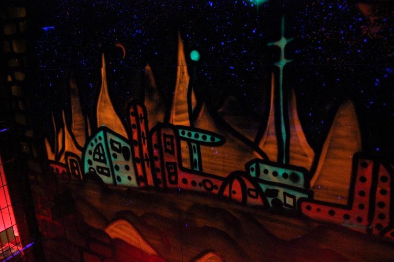 laser tag tvirtovė